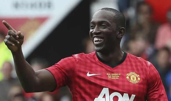Former Manchester United's star Dwight Yorke