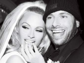 PAMELA ANDERSON AND RICK SALOMON: