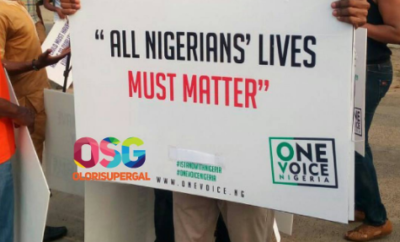One Voice Nigeria Protest