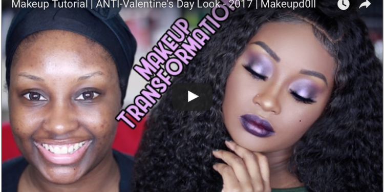 Watch This Anti Valentine S Day Makeup Tutorial By Makeupdoll