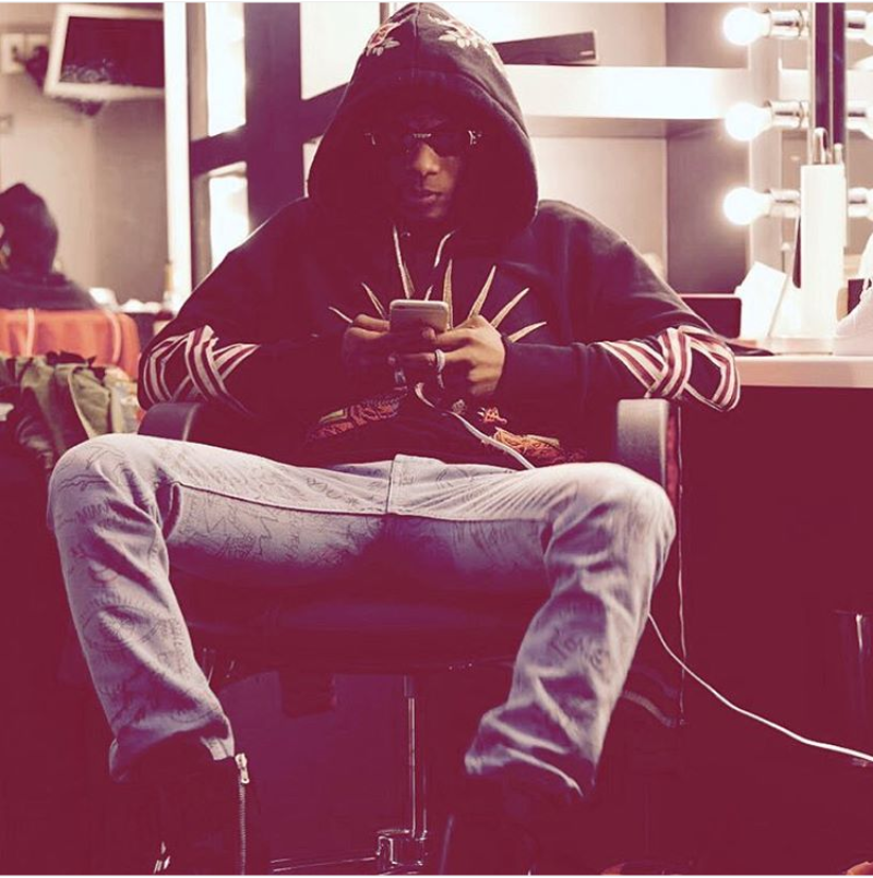 Wizkid' Gucci hoodie of a Million Naira