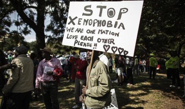 Xenophobic South Africa