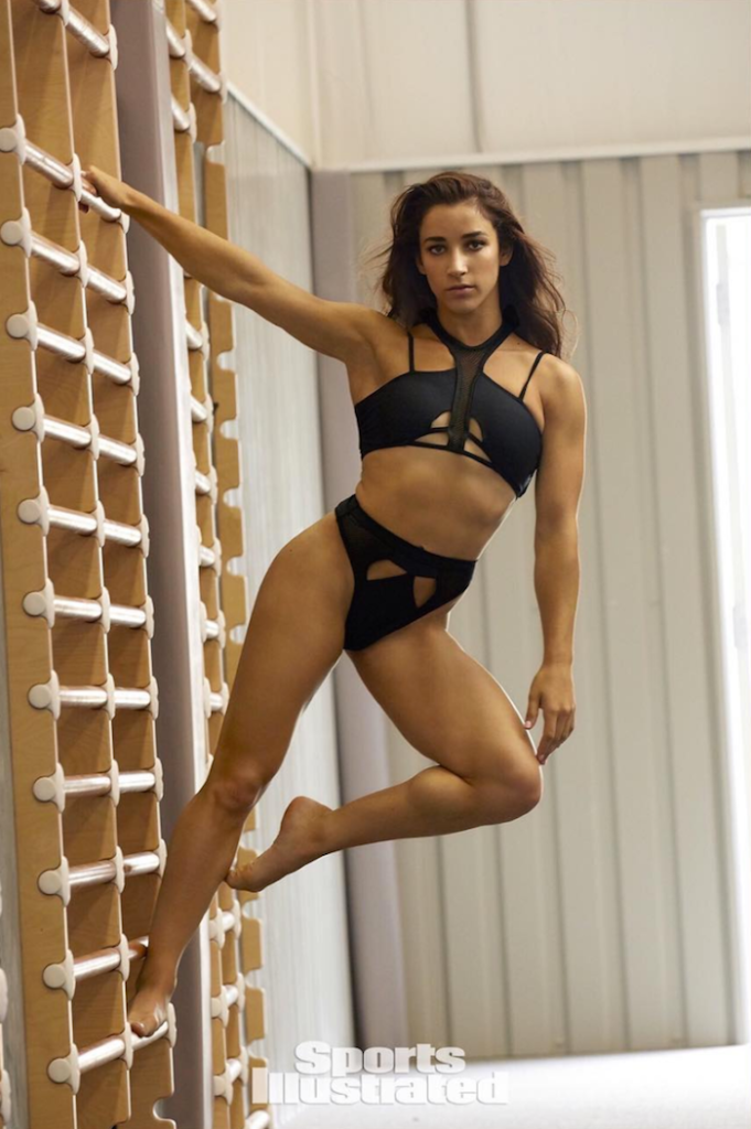 Top 16 Miss Universe 2017 >> Olympic Gymnast Models For Sports Illustrated Magazine