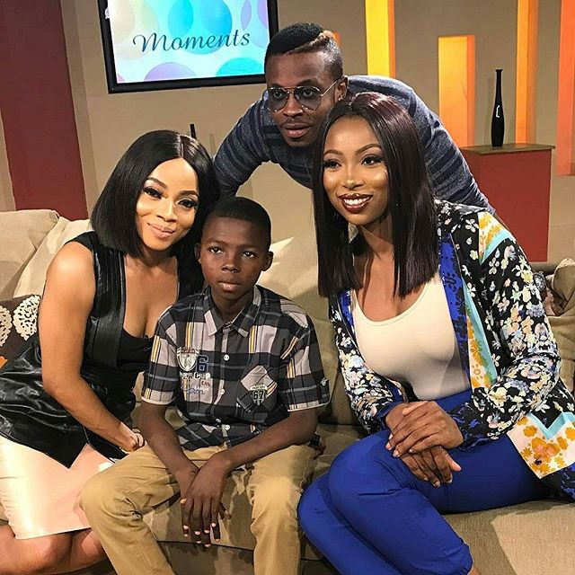 olalekan with toke makinwa