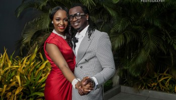 Paul okoye of psquare and wife Anita