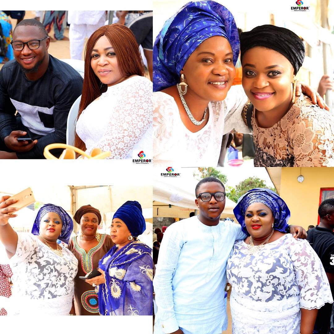 Eniola Badmus Marks Father's 8th Day Fidau Prayers