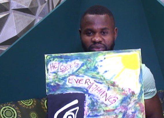Kemen painting of Biggie's look