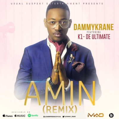 Dammy Grane Amin with Kwam 1 cover