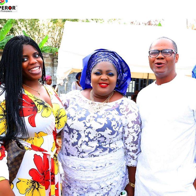 Eniola Badmus Marks Father's 8th Day Fidau Prayers