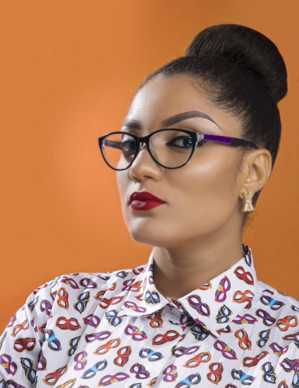 Gifty Stuns In New Photos For Upcoming Project