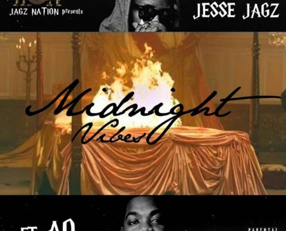 Jesse Jagz – Midnight Vibes Ft. AO art cover
