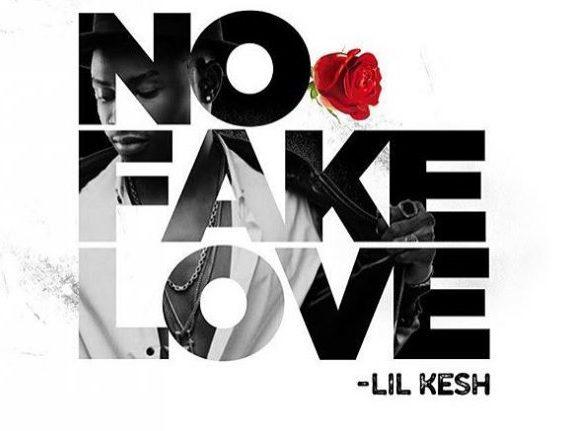 Lil Kesh – No Fake Love art cover