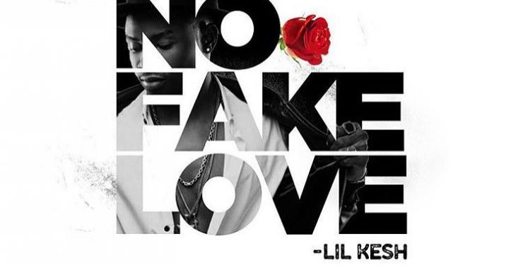 Lil Kesh – No Fake Love art cover