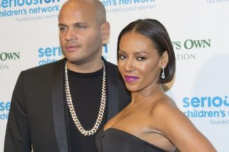 Mel B and husband, Stephen Belafonte