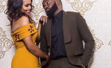 Noble Igwe and wife, Chioma