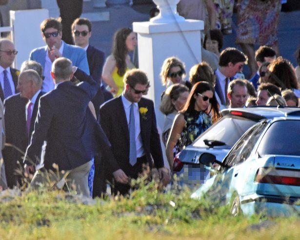 Prince Harry and girlfriend Meghan Markle