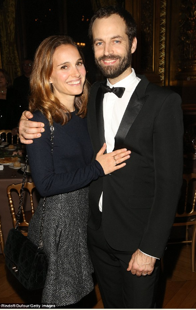 Natalie Portman and husband, Benjamin Millepied