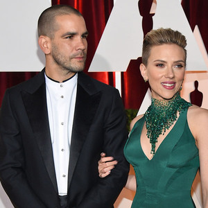 Scarlett Johansson and her estranged husband Romain Dauria