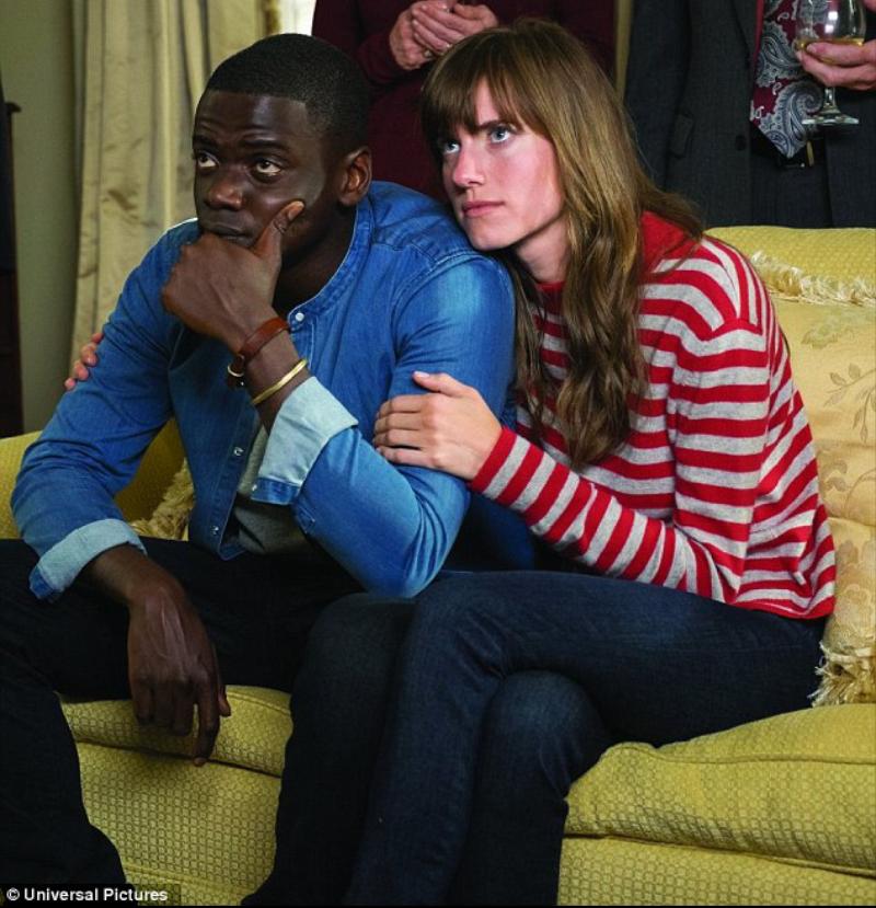 Get Out stars Kaluuya as black photographer Chris Washington and Allison Williams as his white girlfriend Rose Armitag