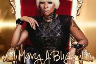 "Mary J. Blige New Album ""Strength Of A Woman"" album art cover"