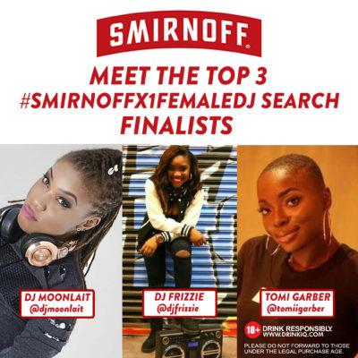 Smirnoff - dj top 3