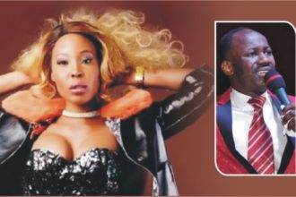 Stephanie Otobo and Apostle Suleman in one picture