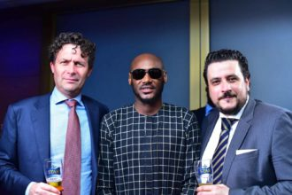 Technical Director at Nigerian Breweries,Henk Wymenga, 2baba, Marketing Director Nigeria Breweries, Franco Maria Maggi