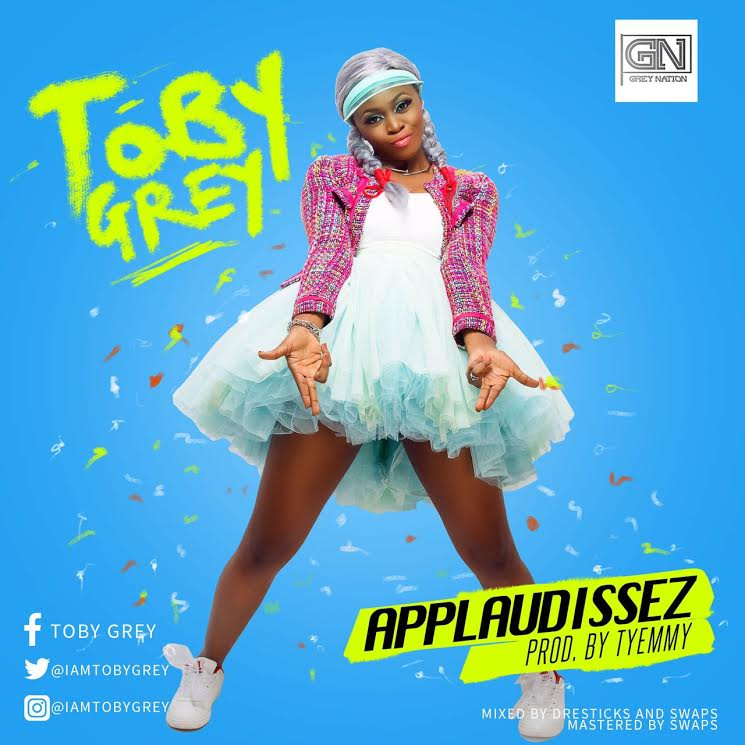 Toby Grey – Applaudissez art cover