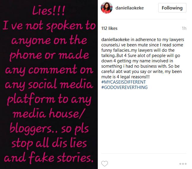 daniella response to sex scandal