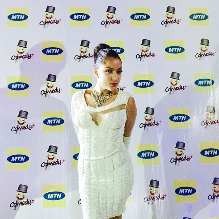 Gifty on MTN carpet