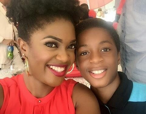 omoni oboli and her son-olorisupergal