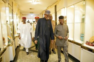 President Muhammadu Buhari and VP Osinbajo