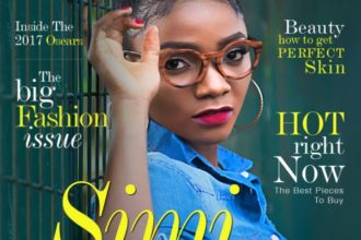 Simi Covers Latest Issue For KOKO Magazine