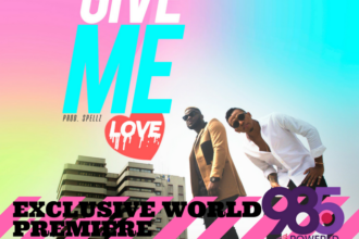 "Skales Feat. Tekno - ""Give Me Love"" art cover"