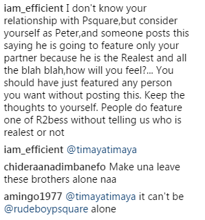 Fans Blasts Timaya For Featuring Only Paul Of Psquare