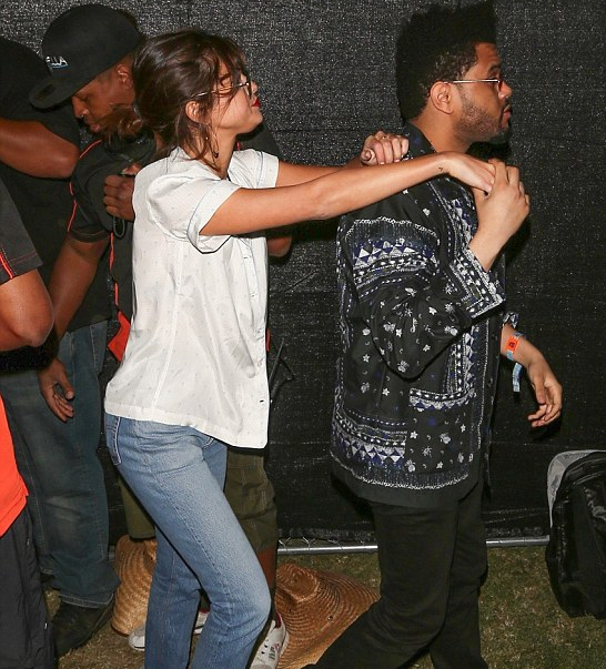 Selena Gomez and The Weeknd At Coachella
