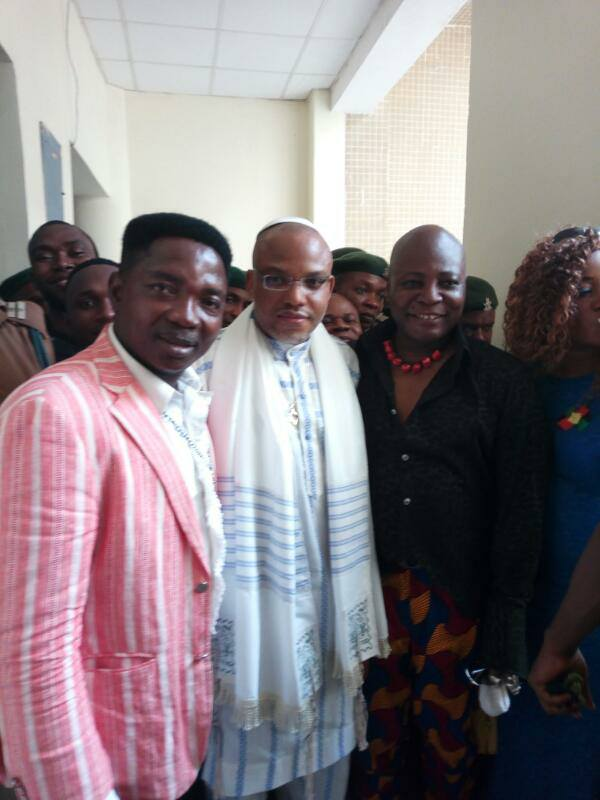 Charly Boy Visits Nnamdi Kanu