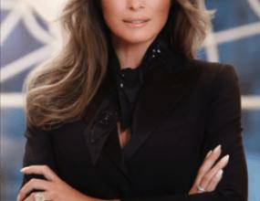 Official Portrait Of Melanie Trump