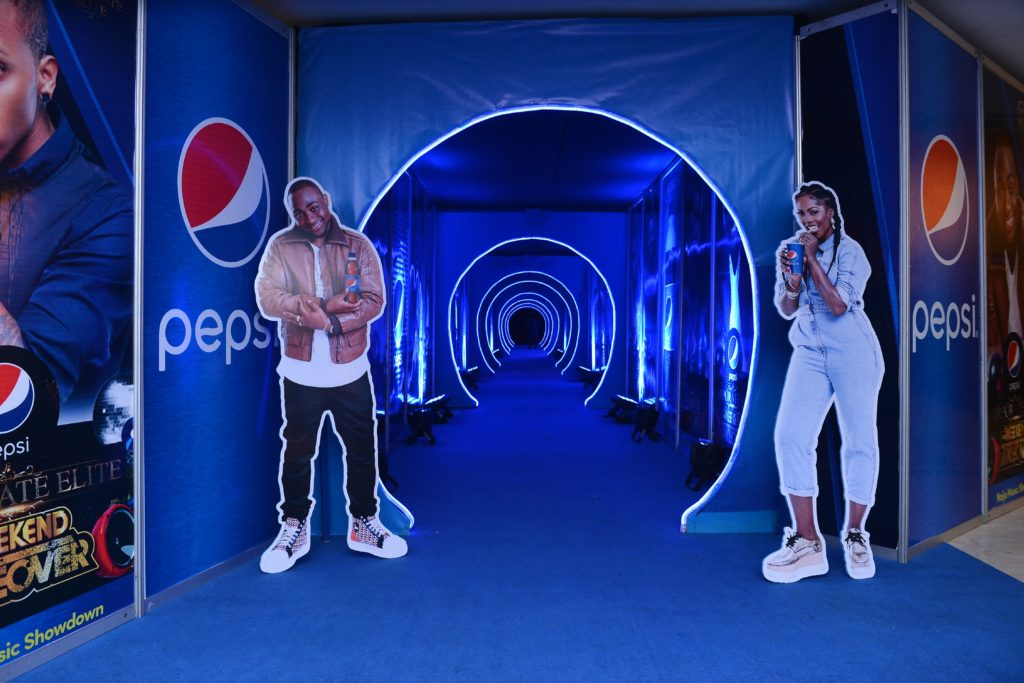 Pepsi Corporate Elite Weekend Takeover