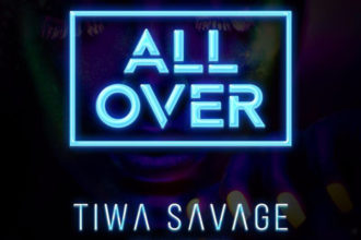 Tiwa Savage – All Over ART COVER