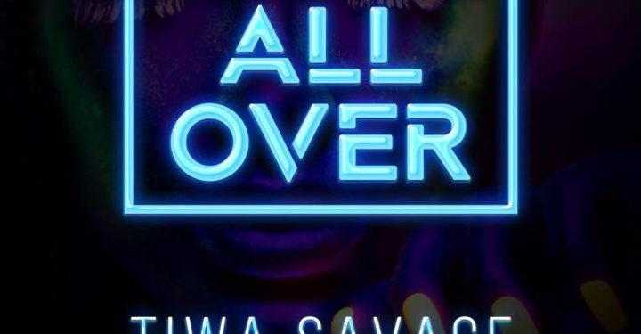 Tiwa Savage – All Over ART COVER