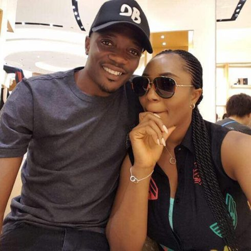 Image result for  Footballer Ahmed Musa and Juliet Adeh Release Pre-wedding Shot