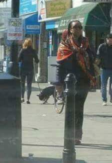 Former Petroleum Minister Deziani Madueke Spotted In A London Street