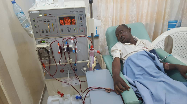 Adeshina Adesanya, also known as Pastor Ajidara who is currently down on hospital bed