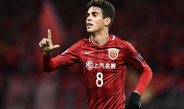 From China, Oscar Will Get Medal If Chelsea Win Premier ...