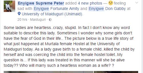 """Enyigwe Supreme Peter"" on facebook"