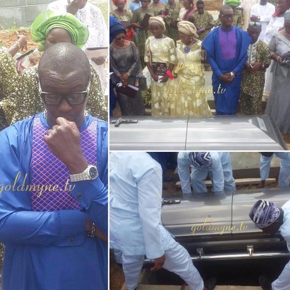 Olumide Bakare burial