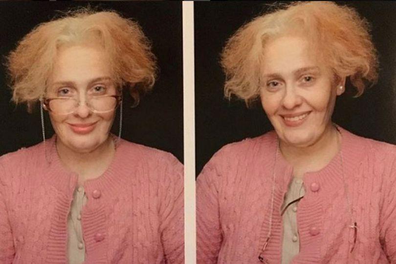 Adele's 29th birthday self transfomation