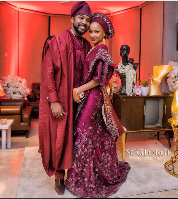 Image result for Banky W and Adesua Etomi's introduction
