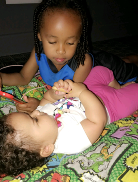 Proud mama of two, Blac Chyna shared these cute photos of her son ...